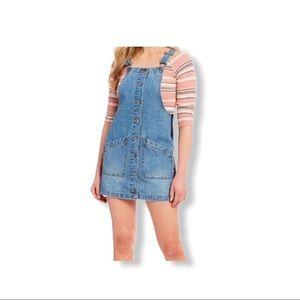 Coco + Jaimeson Denim Jumper Dress.